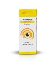 Латанопрост-Оптик капли глазные 0.005% 5мл