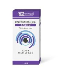Моксифлоксацин-Оптик капли глазные 0,5% 5мл