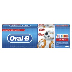Орал Би зубная паста Джуниор нежн. мята 75мл