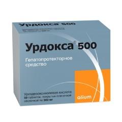 Урдокса капсулы 500мг №50