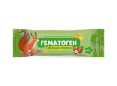 Гематоген с лесным орехом 40г Импловит