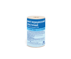 Бинт эластичный компрессионный НР 8х150см (застежка)