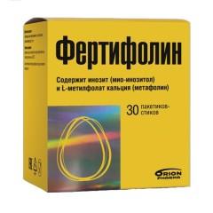 Фертифолин порошок для приготовления раствора внутрь 1,08г саше №30