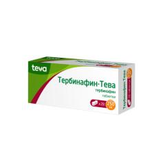 Тербинафин таблетки 250мг №28