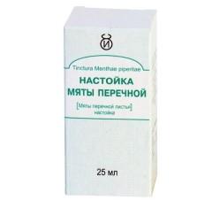 Мята перечная настойка 25мл (кор!)