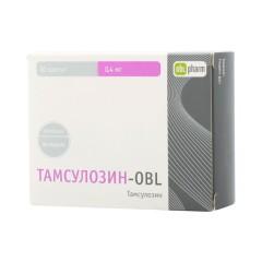 Тамсулозин ретард-OBL таблетки пролонгированные 0,4мг №30