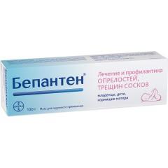 Бепантен мазь 5% 100г купить в Москве по цене от 727 рублей