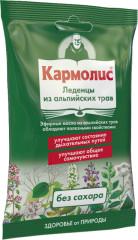 Кармолис леденцы б/сах. 75г купить в Москве по цене от 385 рублей